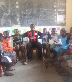 Young Peacebuilders Clubs in W. Uganda